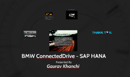Copy of BMW ConnectedDrive System - SAP HANA