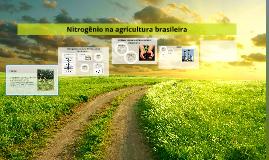 Nitrogênio na agricultura brasileira