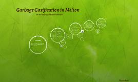 Garbage Gasification in Melton