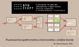 Fluorescenčná spektrometria a chemometria v analýze brandy