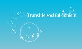 Transitie van het sociaal domein