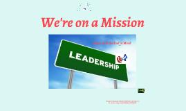 Class Mission Statement