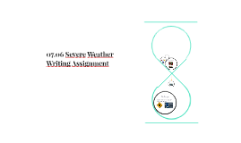 07.06 Severe Weather Writing Assignment