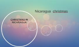 Nicaragua  christmas