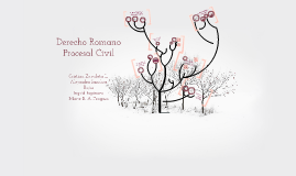 Copy of Copy of Defensa de los Derechos y el Proceso Civil Romano