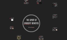 Copy of THE CROSSFIT SPORT