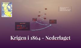 Krigen i 1864 - Nederlaget
