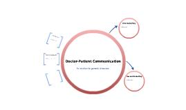 PBL1- Dr-Patient communication