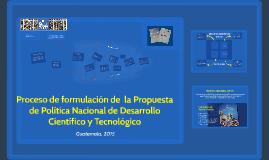 Información sobre los talleres para la formulación de  la Po