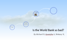 Is the World Bank so bad?