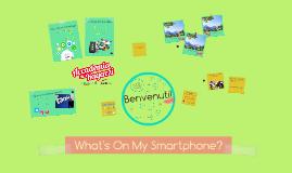 What's On My Smartphone? - Accademia dei ragazzi - 4-8 luglio 2016