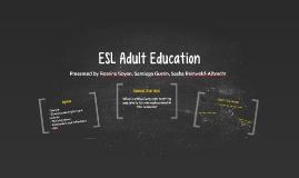 ESL Adult Education