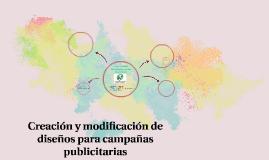 Creación y modificación de diseños para campañas publicitari
