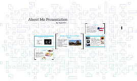 About Me Presentation