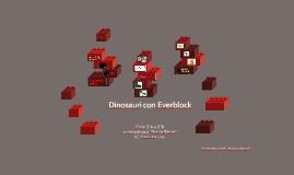 Dinosauri con Everblock
