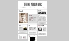 Behind Asylum Bars