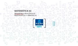 G2 - GEOMETRIA ANALÍTICA - M3