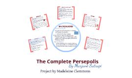 Copy of AP LIT Persepolis Book Project