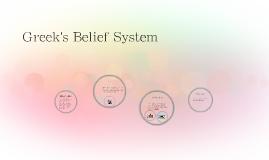 Greek's Belief System