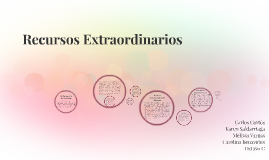 Copy of Recursos Extraordinarios