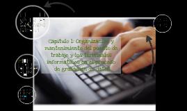 Organización y mantenimiento del puesto de trabajo