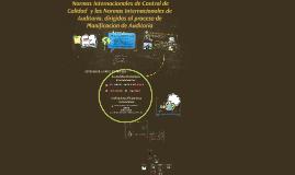 Copy of Las Normas Internacionales de Control de Calidad (NICC 1) y