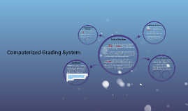 Computerized Grading System
