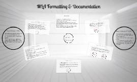 Copy of MLA Formatting & Documentation