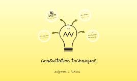 consultation techniques