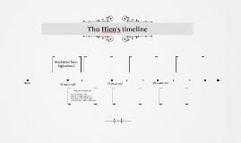 Thu Hien's timeline