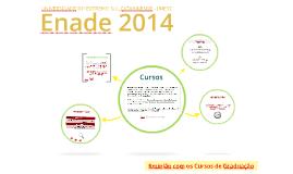 Enade 2014 - Reunião com os Cursos