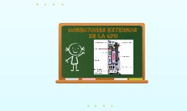 Conectores Externos CPU