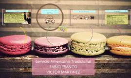 Copy of Servicio Americano Tradicional