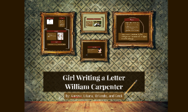 Copy of Girl Writing a Letter.
