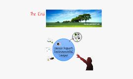 Career Report: Environmental Lawyer