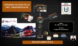 PRACTICAS PRE- PROFESIONALES ATLAS CARGO