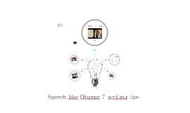 Speech like Obama: 7 writing tips