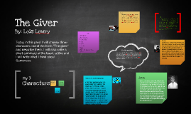 The Giver assignment/prezi