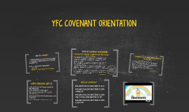 YFC COVENANT ORIENTATION
