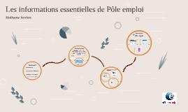 Les informations essentielles de Pole Emploi (V3)