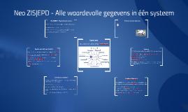 Neo ZIS|EPD - Alle waardevolle gegevens in één systeem