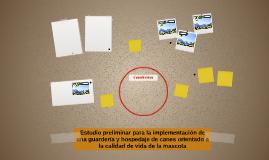 Estudio preliminar para la implementación de una guardería y