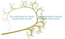 FSC Certification for Church Forests