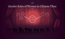 Gender Roles of Women in Chinese Films