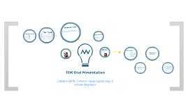 TOK Oral 1