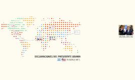 DECLARACIONES DEL PRESIDENTE OBAMA EN BUENOS AIRES