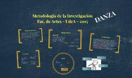 Metodología de la Investigación (Danza)