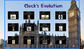 Clock's Evolution