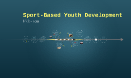 Sport-Based Youth Development