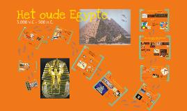 Klas 1 HET OUDE EGYPTE